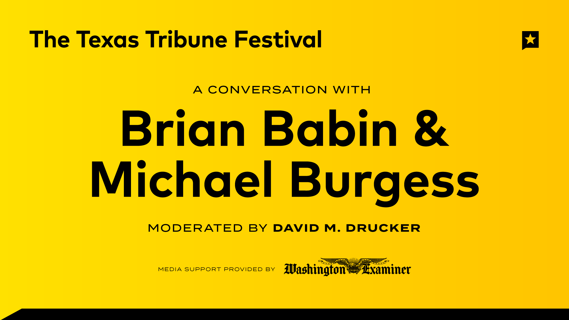 A Conversation with Brian Babin and Michael Burgess