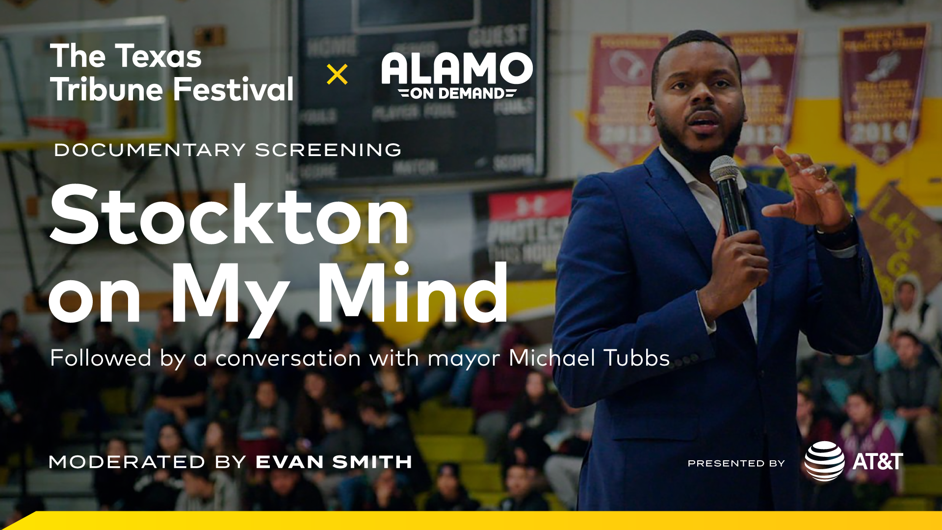 """A Conversation with """"Stockton on My Mind"""" Star Michael Tubbs with Alamo On Demand"""