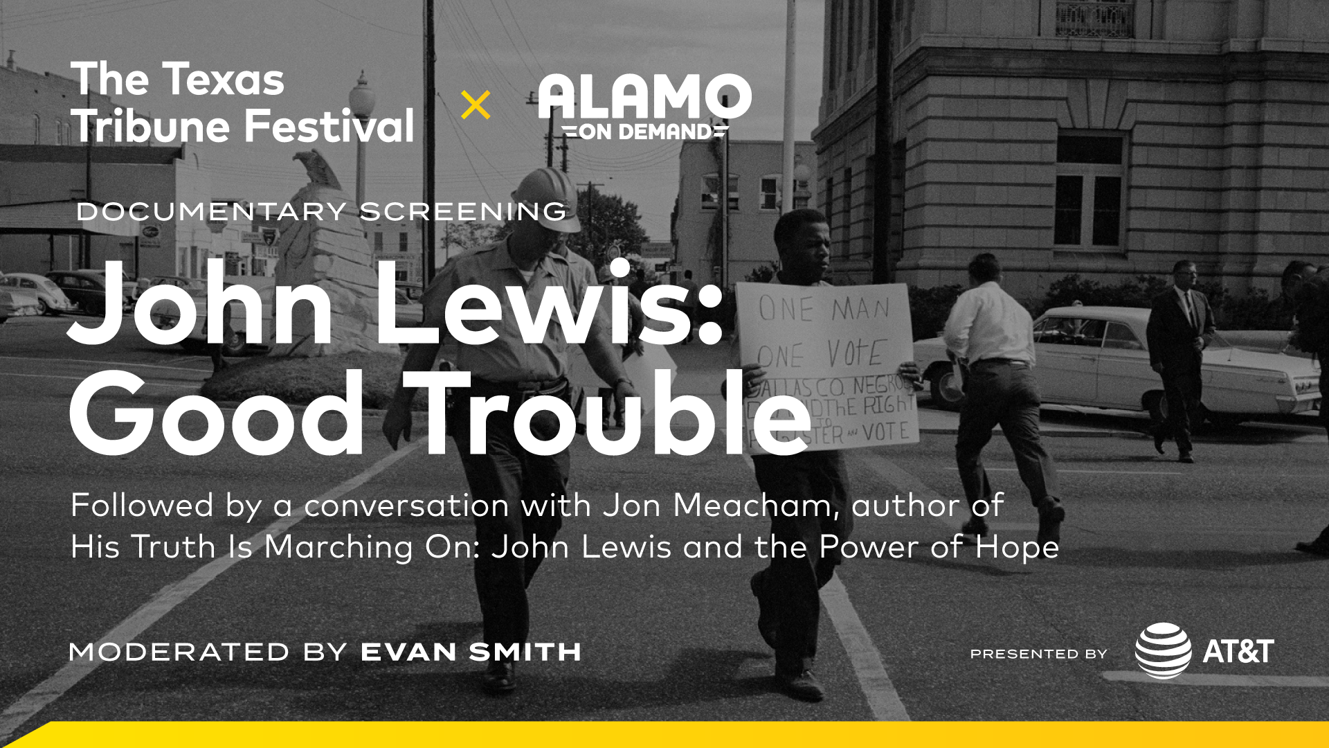 "Screening of ""John Lewis: Good Trouble"" with Alamo On Demand"