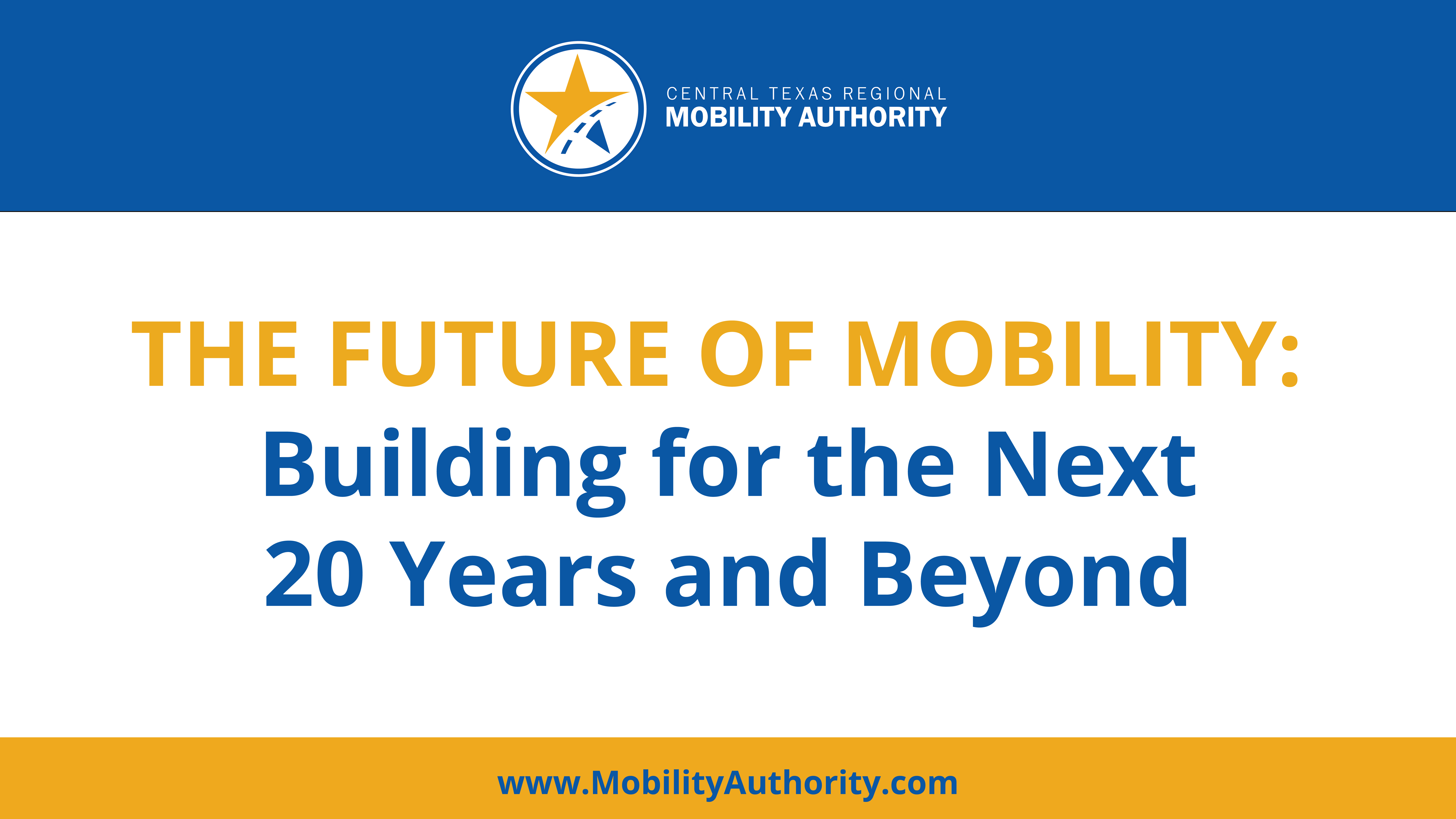 [Partner Program] The Future of Mobility: Building for the Next 20 Years and Beyond