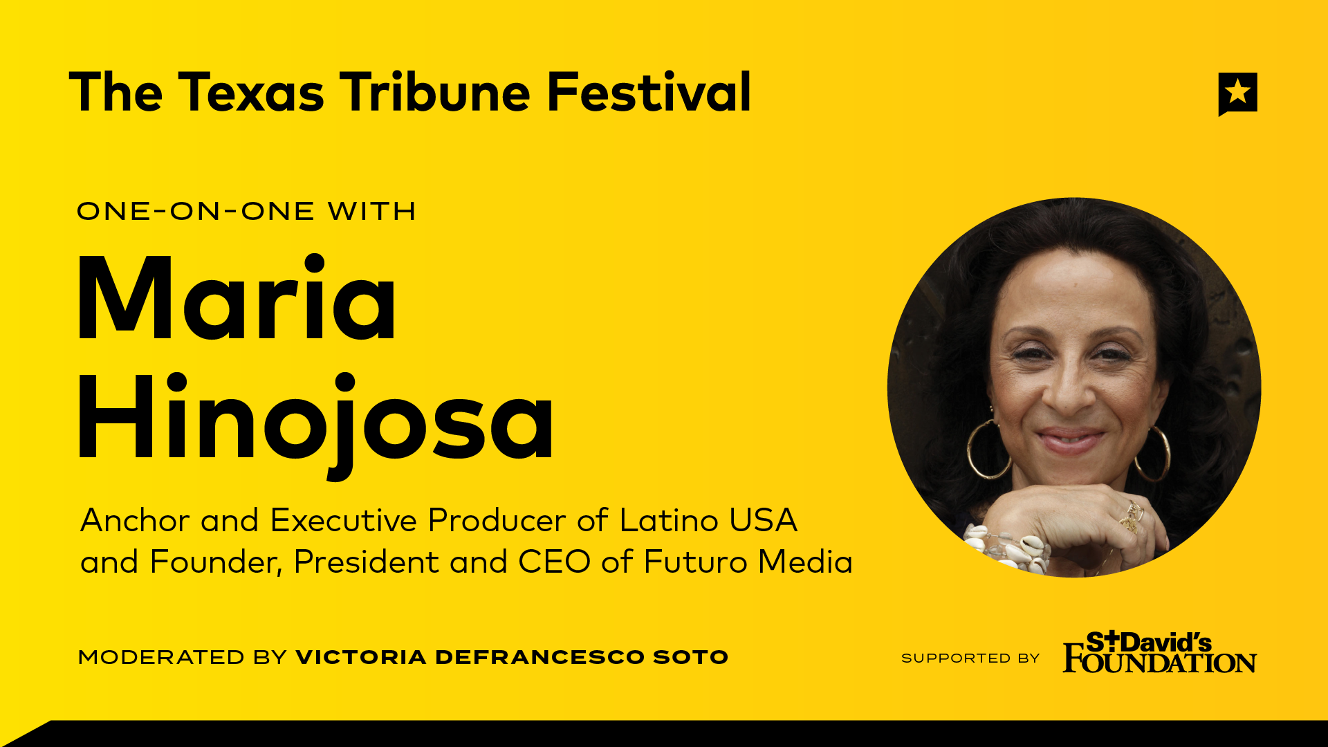 One-on-One with Maria Hinojosa