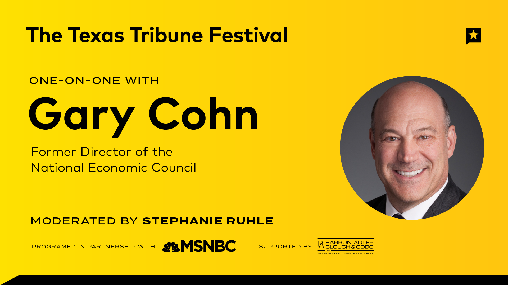 One-on-One with Gary Cohn
