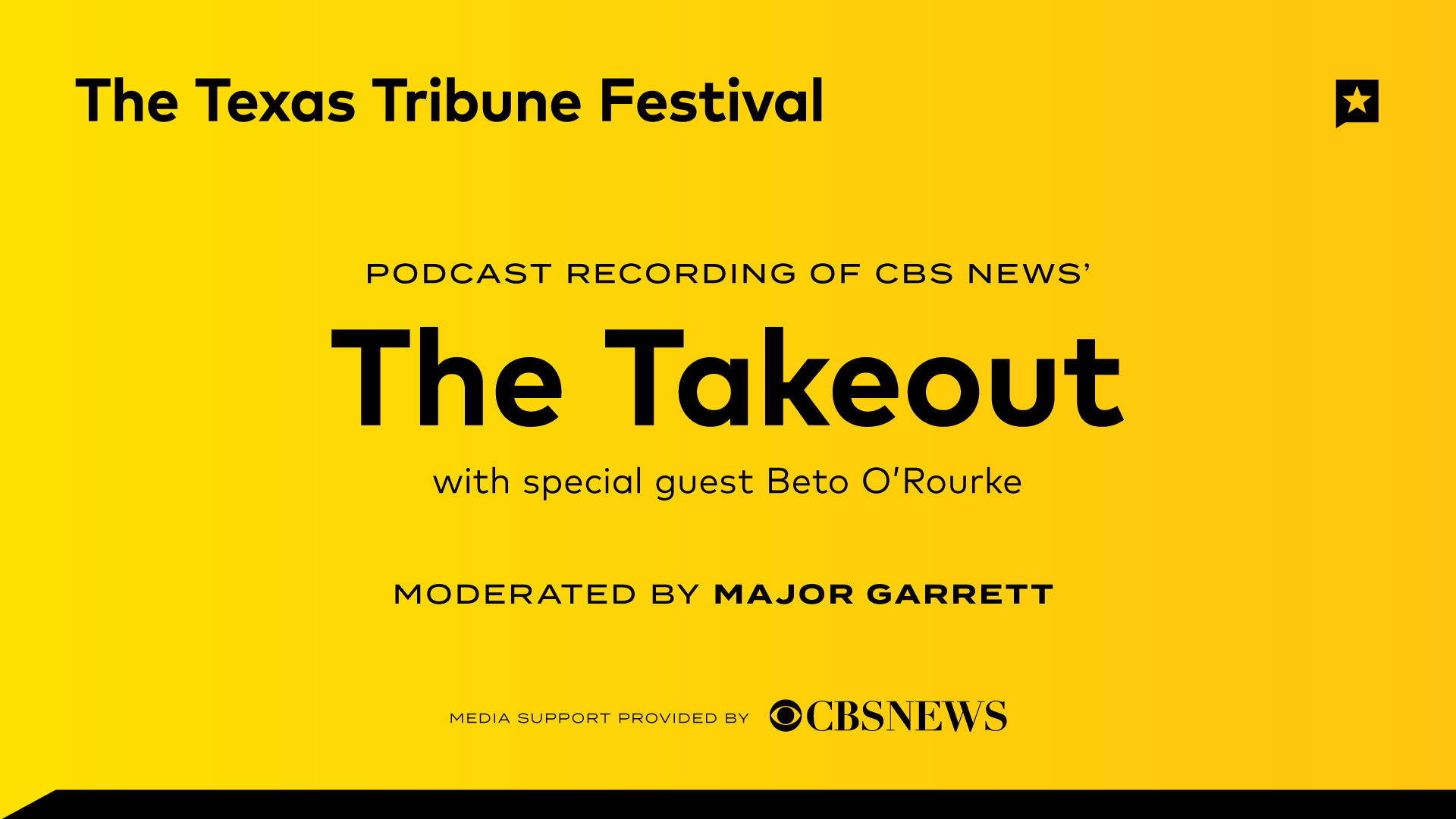 "Recording of CBS News' ""The Takeout"" Podcast"