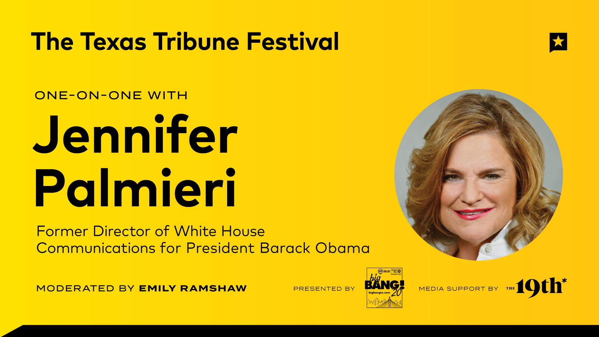 One-on-One with Jennifer Palmieri