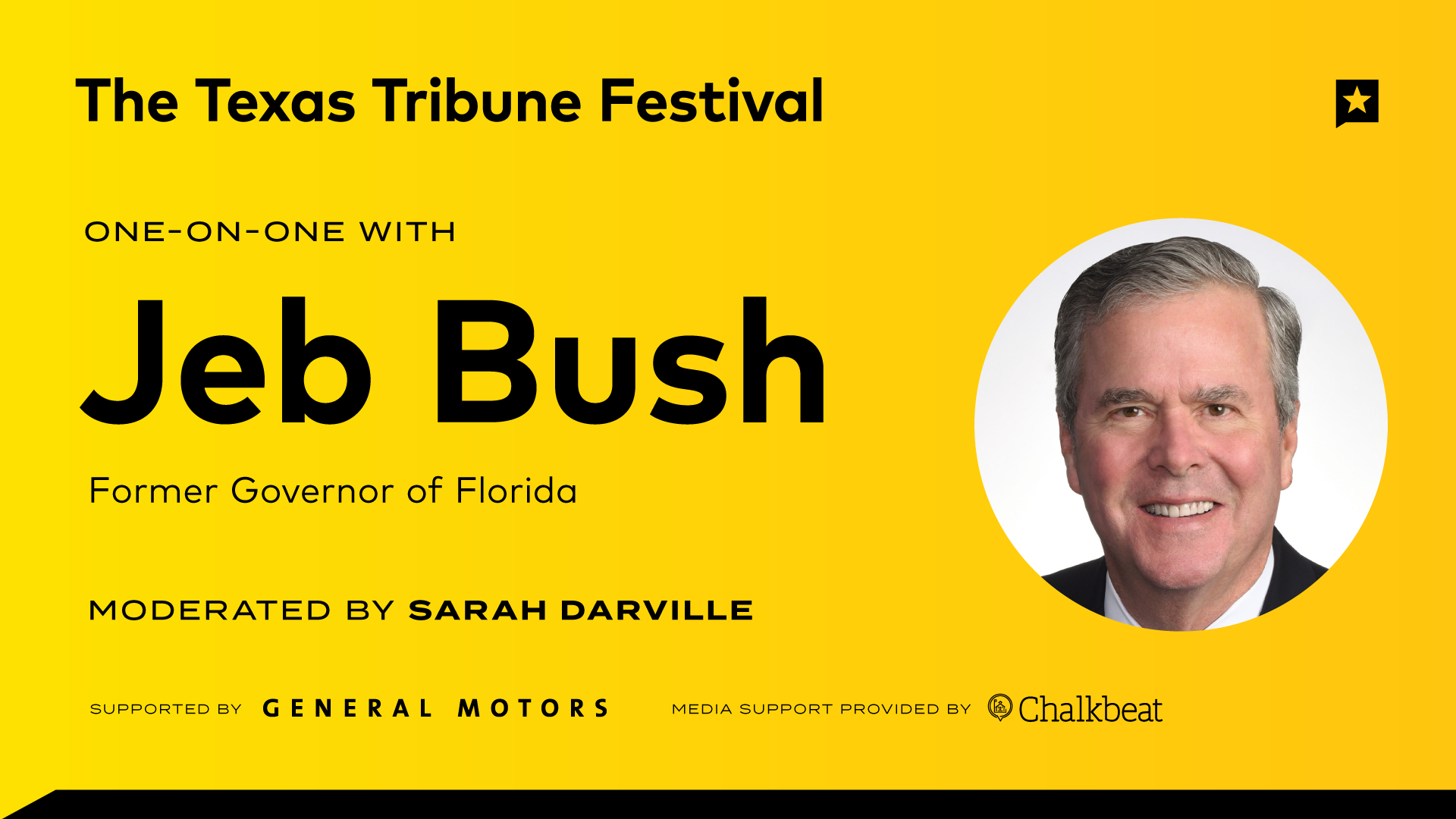 One-on-One with Jeb Bush