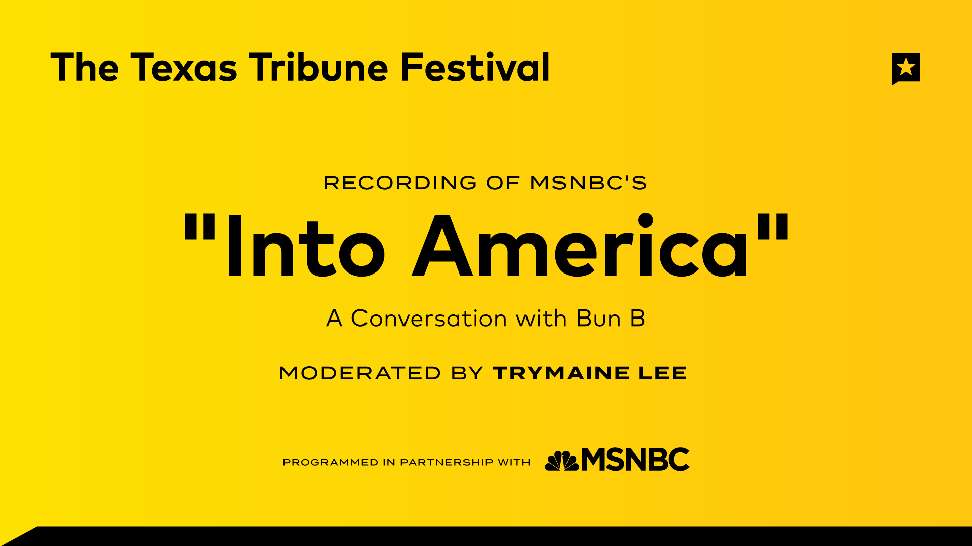 "Recording of NBC News' ""Into America"" Podcast"