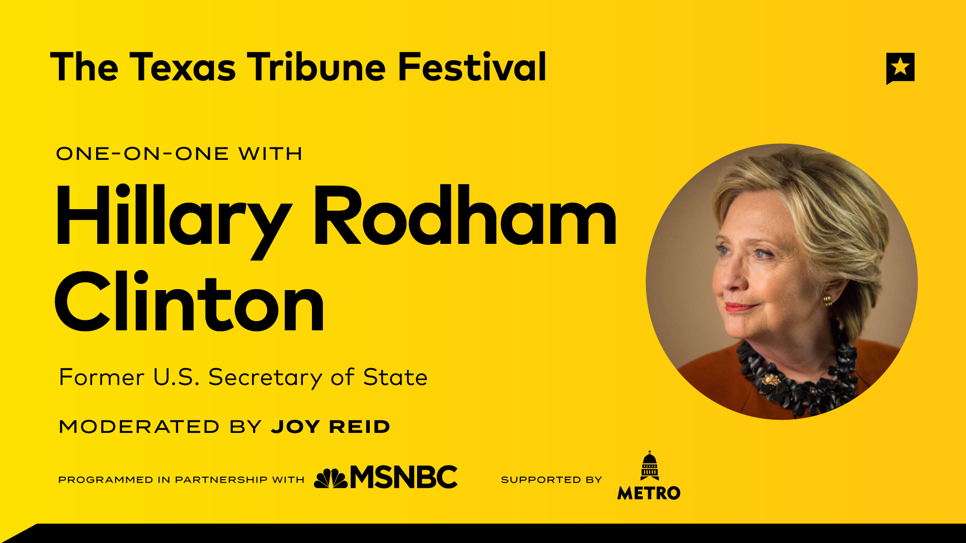 One-on-One with Hillary Rodham Clinton