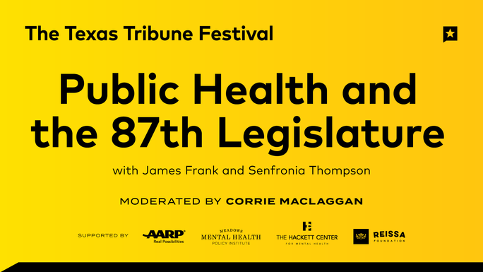 Public Health and the 87th Legislature