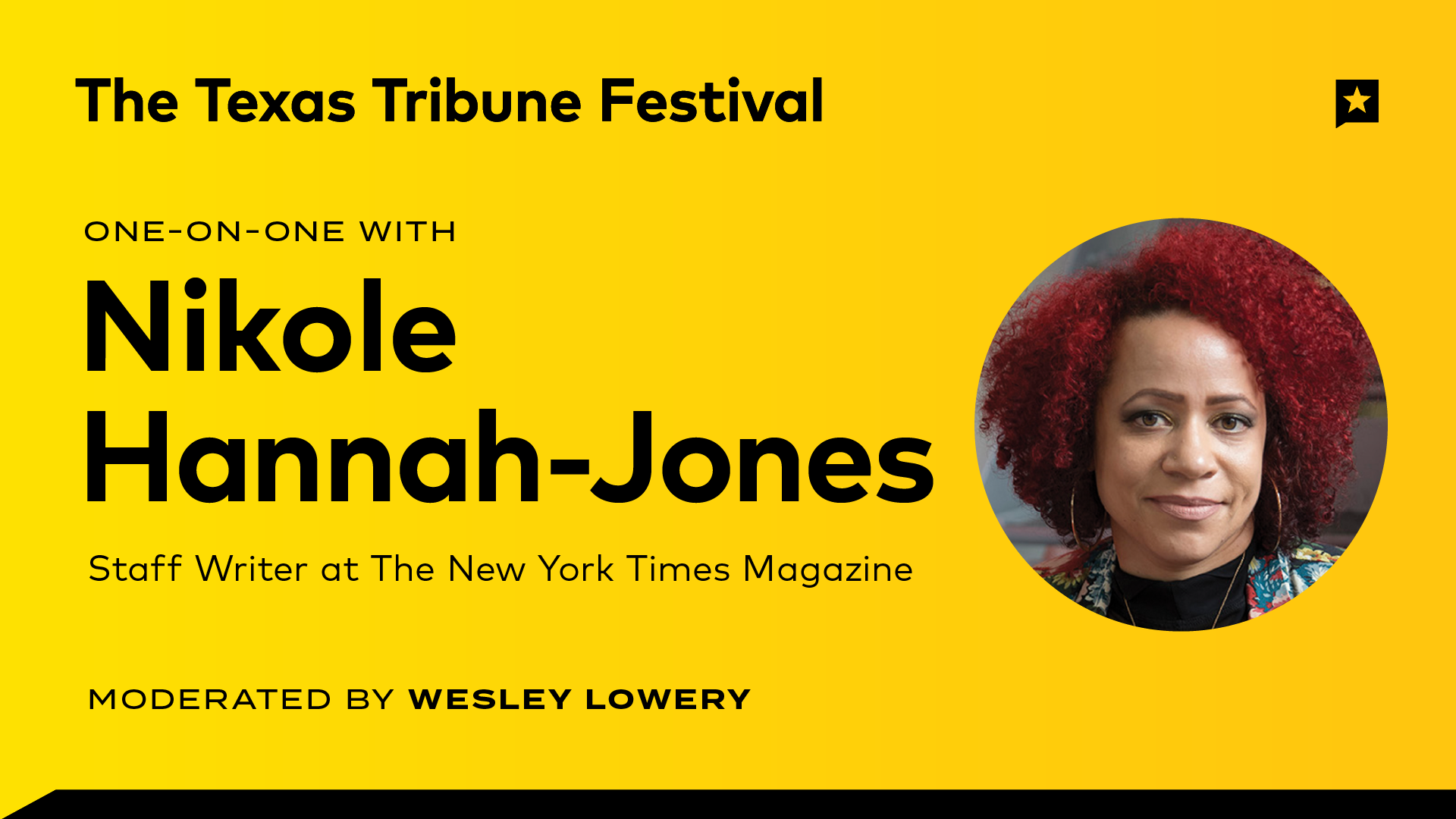 One-on-One with Nikole Hannah-Jones