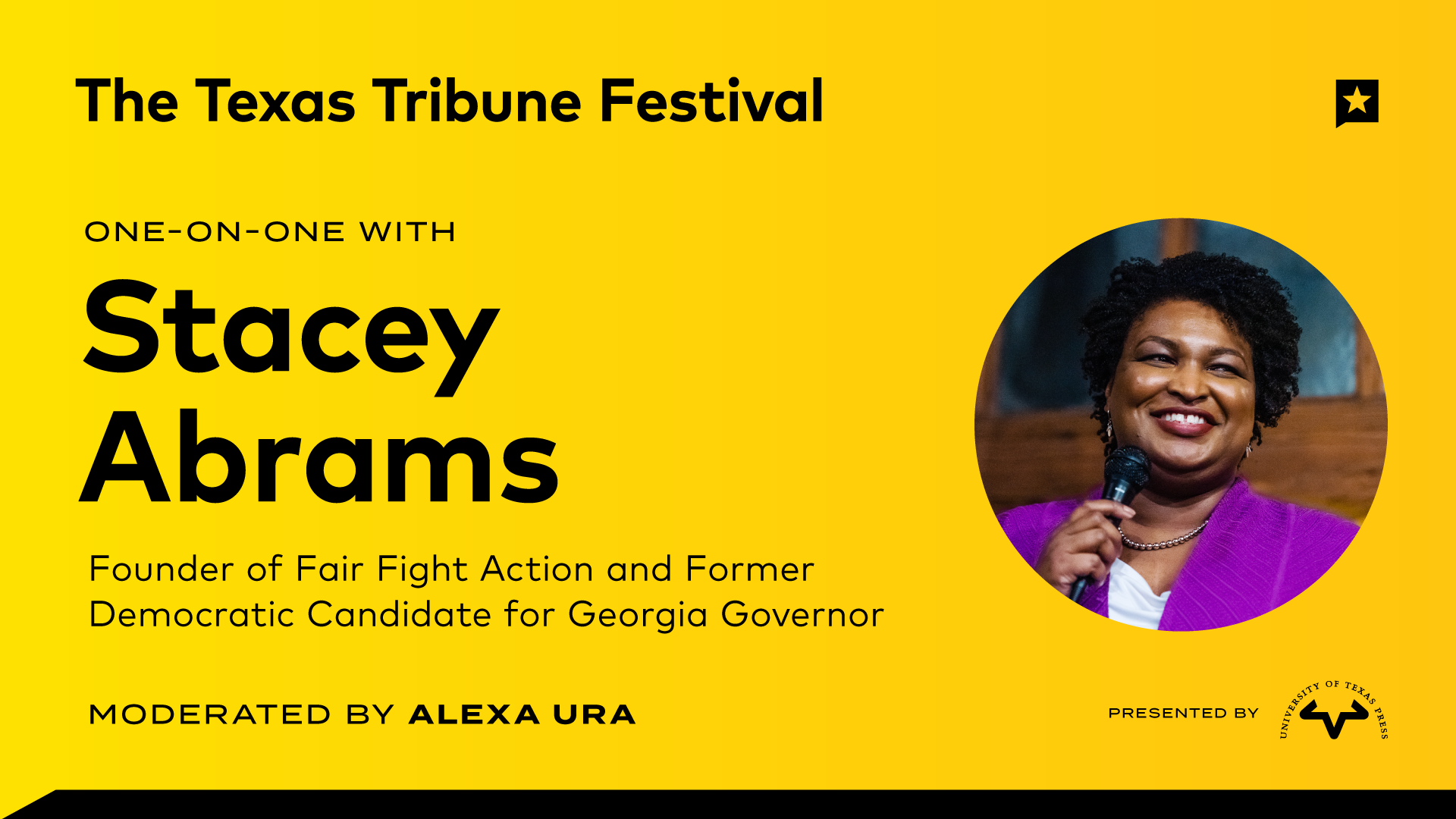 One-on-One with Stacey Abrams