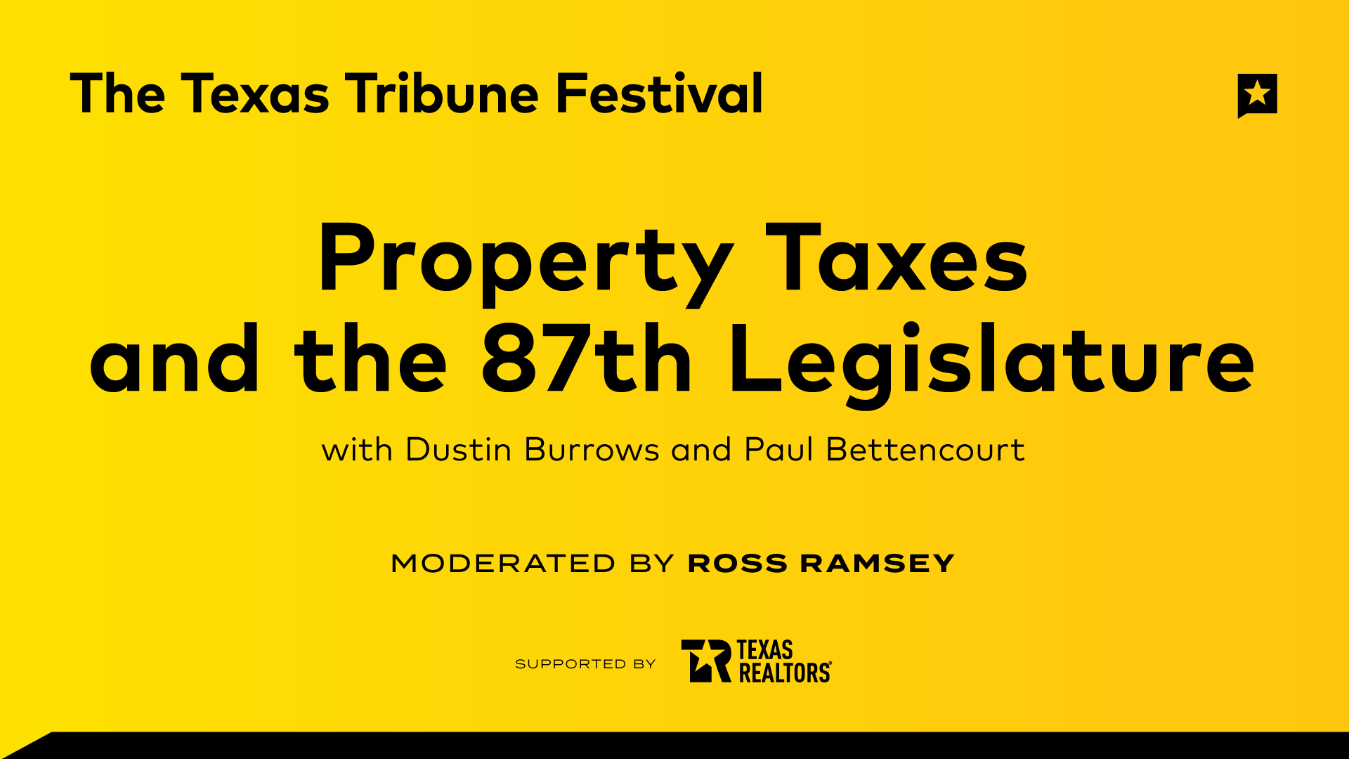 Property Taxes and the 87th Legislature