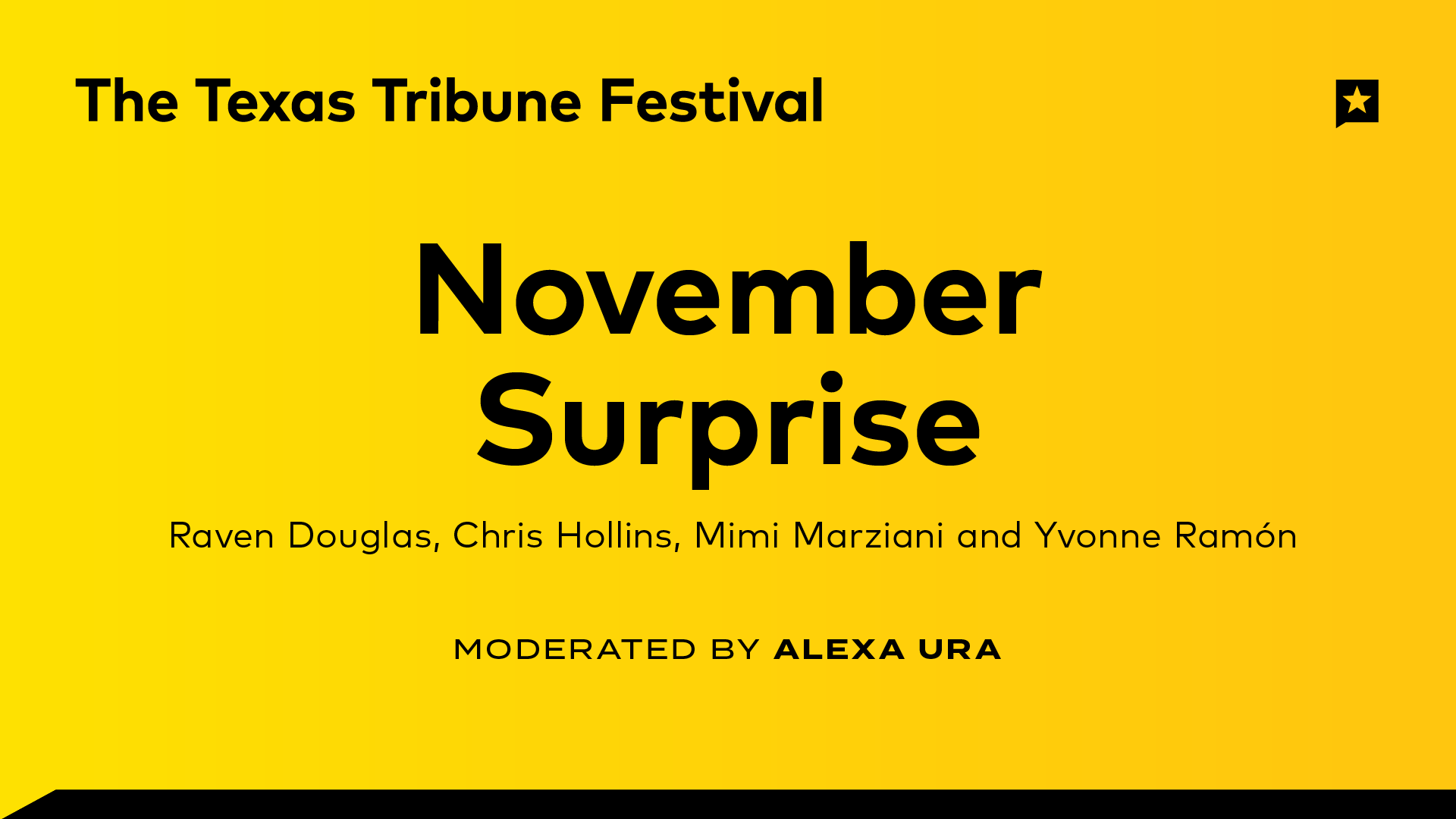 November Surprise