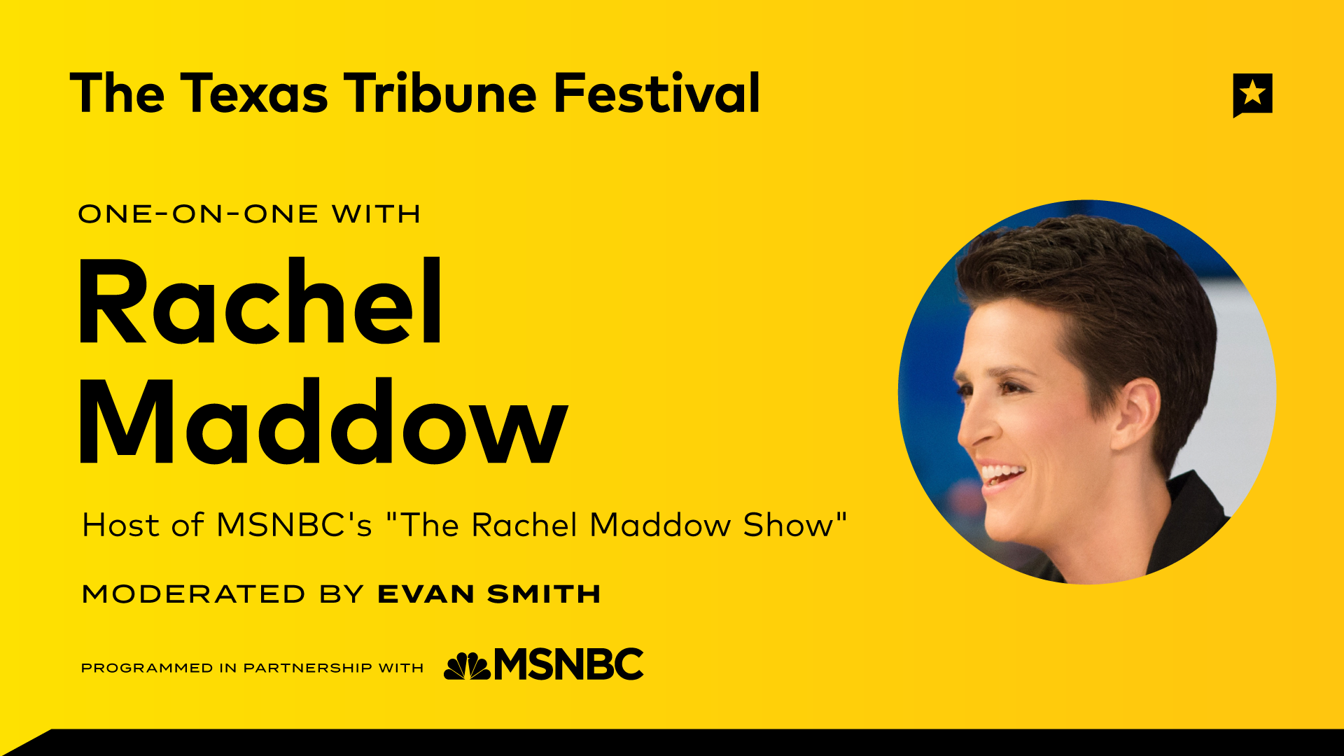 One-on-One with Rachel Maddow