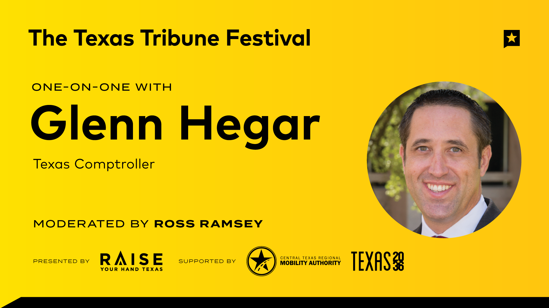 One-on-One with Glenn Hegar